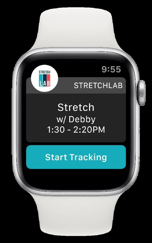 Stretchlab Apple Watch